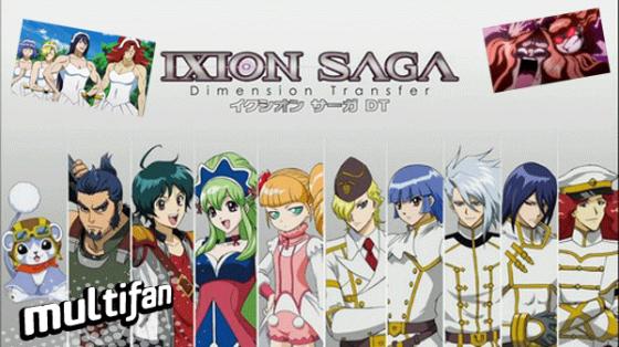 """Anime: A reír se ha dicho con """"Ixion saga DT"""""""