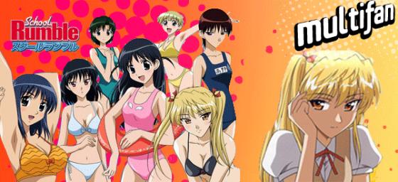 "Anime: ""School Rumble"", una 'comedia romántica' sin romance..."