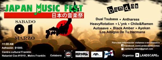 Japan Music Fest, 1 de marzo, Santiago