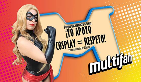 Lemmy Miyauchi y Multifan apoyan Cosplay = Respeto.