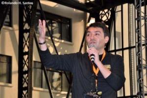 Roberto Reyes, productor ejecutivo de Comic Con Chile. Foto: Rolando H. Santos.