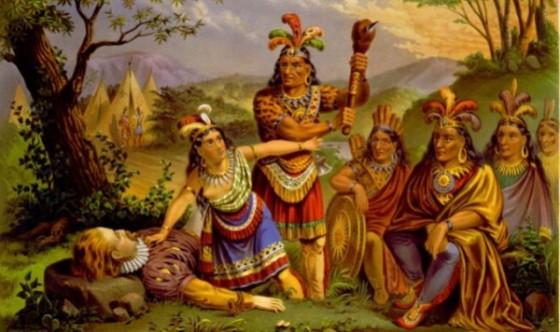 Pocahontas-saves-Smith-NE-Chromo-1870-676x450-675x400