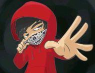 Doblecero, el rapero del anime y su primerconcierto