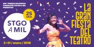 Más de 80 espectáculos contempla Santiago A Mil para enero2018